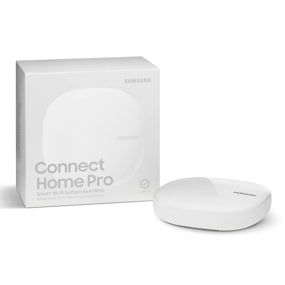 Samsung Connect Home Pro AC2600 Smart Wi-Fi System (Single), Works as a SmartThings Hub by Samsung