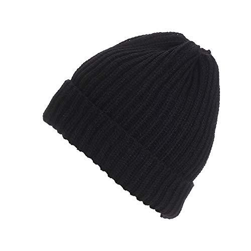 URIBAKE ❤ Unisex Beanies Knitted Wool Ski Baggy Solid Cap Winter Warm Hat Alternative Colors ()