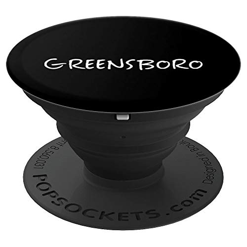 Greensboro NC Gift - PopSockets Grip and Stand for Phones and ()