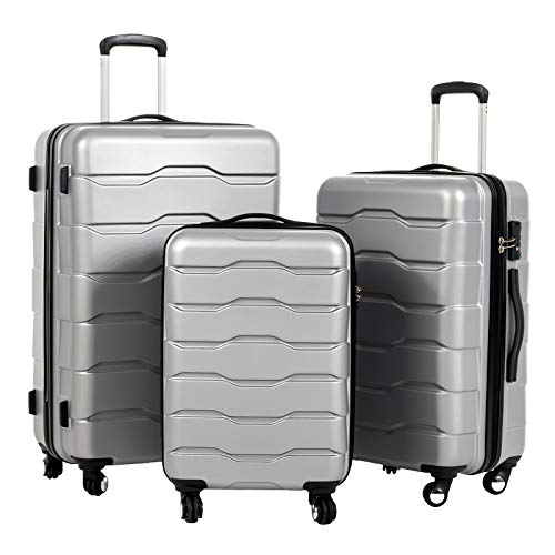 Murtisol Durable luggage sets with spinner wheels and TSA Lock 20