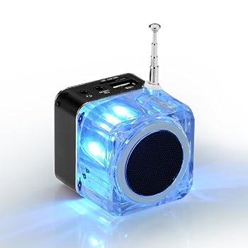 Nizhi Tt-028 Mp3 Mini Digital Portable Music Player Micro Sd Usb Fm Radio (Black) 3