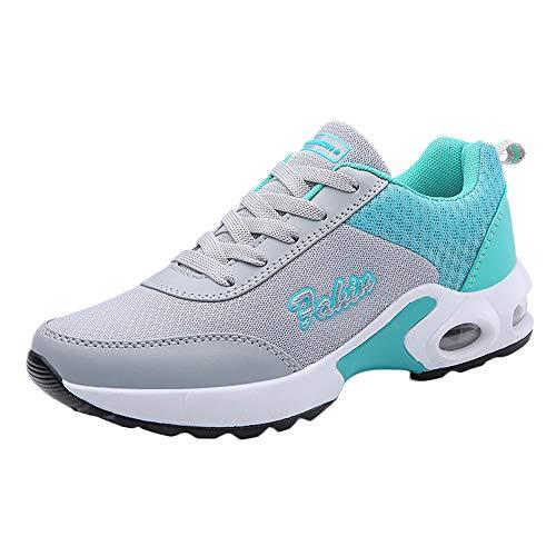 umUXHxk Running Shoes Men Women Athletic Fitness Tennis Sport Shoes Outdoor Lightweight Sneakers Pink