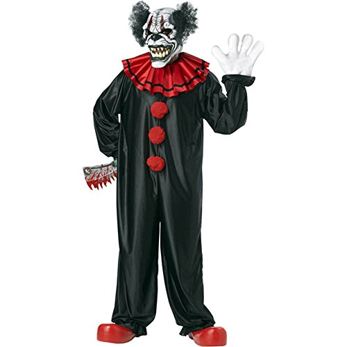 Last Laugh The Clown Costume (Last Laugh, The Clown Adult Costume - One)