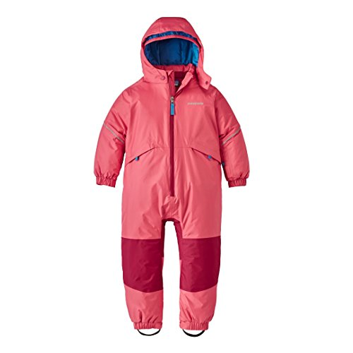 Patagonia Snow Pile One-Piece Baby Indy Pink Unisex Baby 6-12m by Patagonia