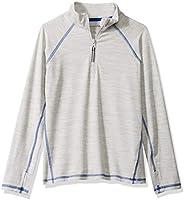 Amazon Essentials Boys Active Performance Half-Zip Jackets