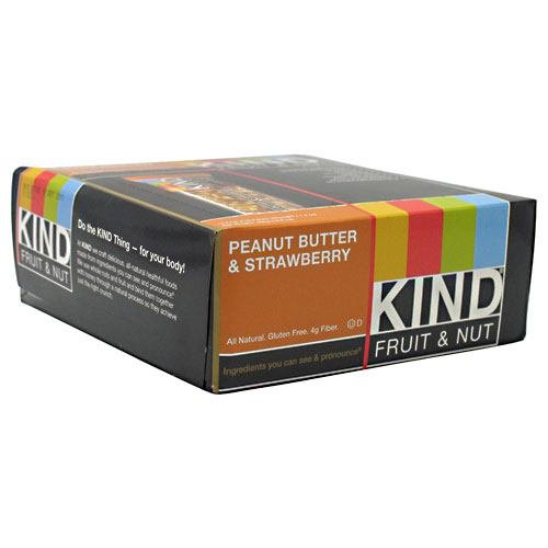 Kind Fruit and Nut Bars Peanut Butter and Strawberry 12 Bar(S)