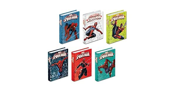 Seven - Diario agenda Spider-Man 10 meses Seven - J16 ...