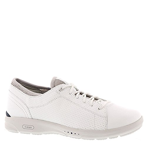 Rockport TruFlex Lace To Toe Women's Oxford 8 B(M) US White - Rockport Women Casual Oxfords