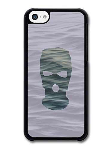 Balaclava Illustration on Ocean Goth Grunge case for iPhone 5C