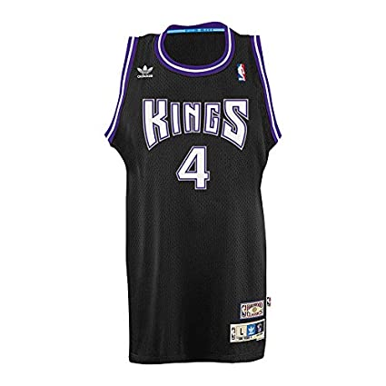 promo code 45cc0 4b49c Adidas Men's Sacramento Kings NBA Chris Webber Soul Swingman Jersey