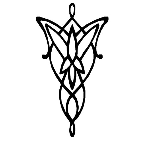 Amazoncom Lord Of The Rings Decal Arwen Decal Arwen Evenstar