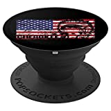 Cherokee Gifts American Flag %2D PopSock