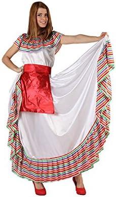 Atosa-49977 Atosa-49977-Disfraz Mejicana-Adulto XL-Mujer, Color ...