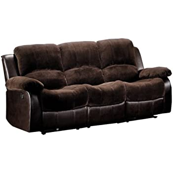 Amazon Com Ashley Furniture Signature Design Hogan Reclining Sofa Manual Recliner Couch