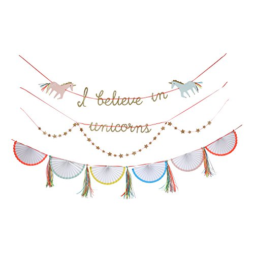 Luxury Unicorn Garland Bunting Room Decor Party