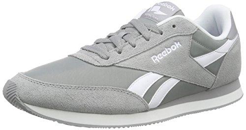 Royal Grey Jogger Classic Flat Herren White Grey Sneakers Grau Baseball 2 Reebok wR4Hx