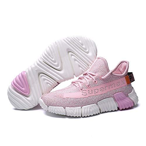 Donna Sportive Basse Uomo Basket Casual Da Interior Sneakers Scarpe Corsa  Tqgold® Ginnastica Running Rosa Fitness All aperto fY5xCzqdwd 5c3e6ab69ee