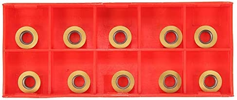 Qualitäts-CNC-Drehmaschine Werkzeug-Zubehör Einsätze Drehwerkzeug Set SRAPR1616H10 Planfräsen Außendrehhalter mit 10 Stück RPMT10T3MO