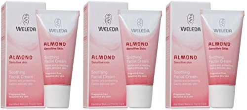 Cheap (3 PACK) – Weleda – Almond Soothing Facial Cream | 30ml | 3 PACK BUNDLE
