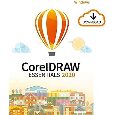 CorelDRAW Essentials 2020   Software de diseño gráfico   1 Dispositivo   PC   Código de activación PC enviado por email