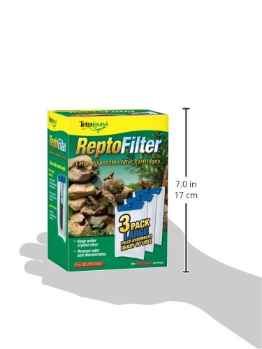 046798260493 - Tetra 26049 ReptoFilter Filter Cartridges, Large, 3-Pack carousel main 1
