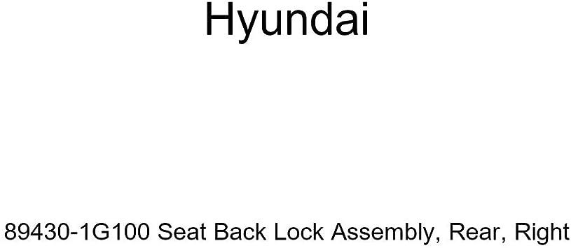 Rear Genuine Hyundai 89331-25100 Seat Back Lock Assembly Left