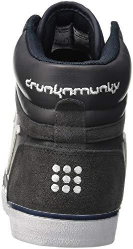 Navy gray Classic Drunknmunky Hautes Boston Homme 006 Gris Baskets xTvYO0pYwq