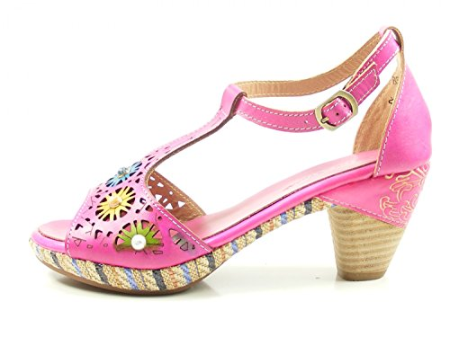 Bar Women's 88 Pink T Laura Vita Sandals Belfort 5qcX7