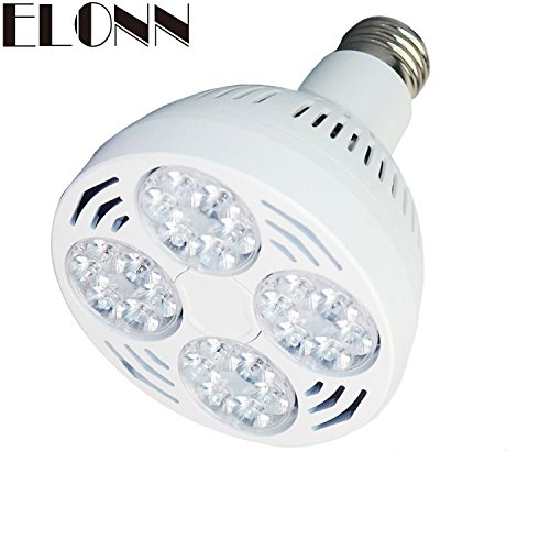 Elonn Par30 35watt Swimming Pool Led Light Bulb 6000k Daylight White Replace 300 500w Light