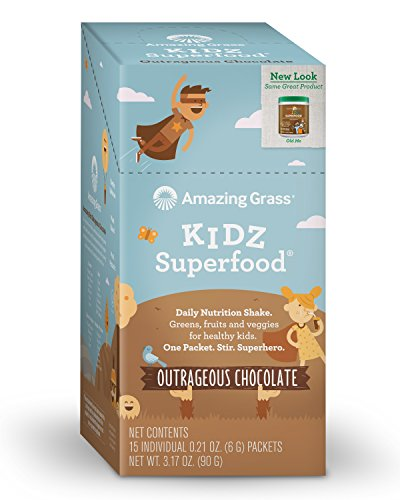 Amazing Grass Superfood Natural Chocolate