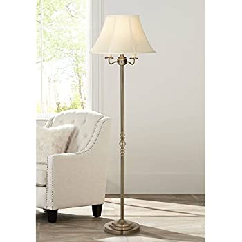 Montebello Antique Brass Floor Lamp By Regency Hill
