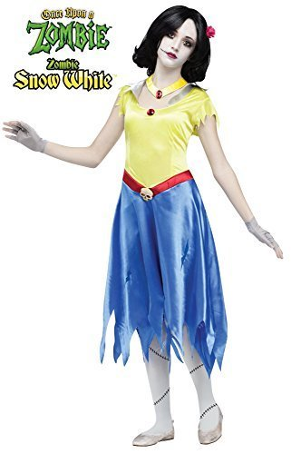 Once Upon a Zombie Snow White - Child Large 12-14