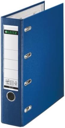 blau 75 mm 2x A5 quer Leitz 1012 Plastik-Doppelordner