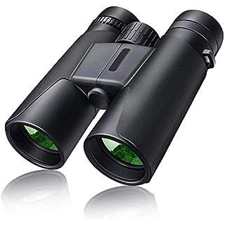 Binoculars for Adults 10x42 HD Low Light Night Vision Binoculars for Birds Watching Hunting Sports Games - Large Eyepiece Binoculars with BAK4 FMC Lens