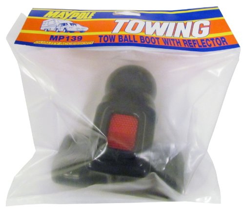 (Maypole 139 PVC Tow Ball Boot and Reflector)
