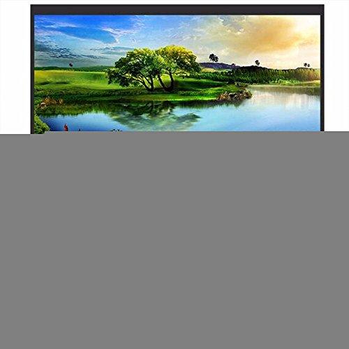 Écran de projection de rideau de projecteur Durable HD 16: 9 mariage Home Cinema