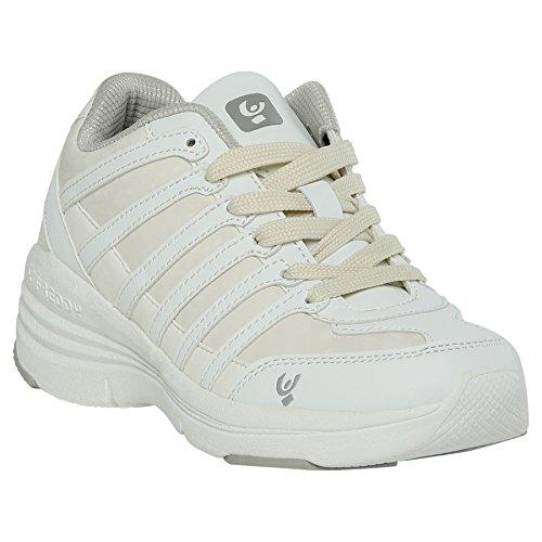 Freddy Shoe Cushy White, White, 40, Freddy