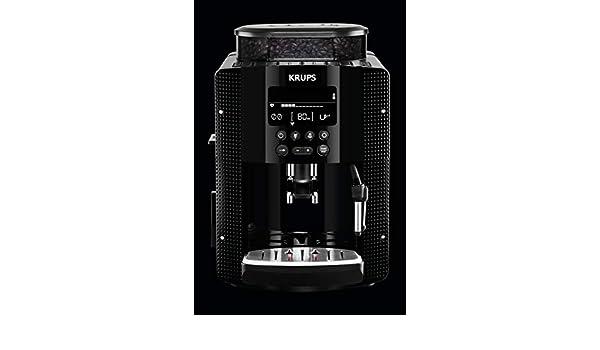 Krups EA8150 Independiente Máquina espresso Negro 1,7 L 2 tazas ...
