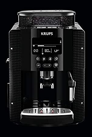 Krups EA8150 Independiente Máquina espresso Negro 1,7 L 2 ...