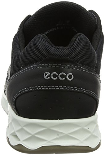 Ecco Mannen Wayfly Trekking & Wandelschoenen Half-zwart (zwart)
