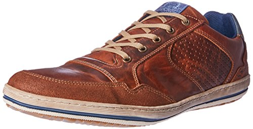 Wild Rhino Men Crest Trainers Shoes Brown (TAN)