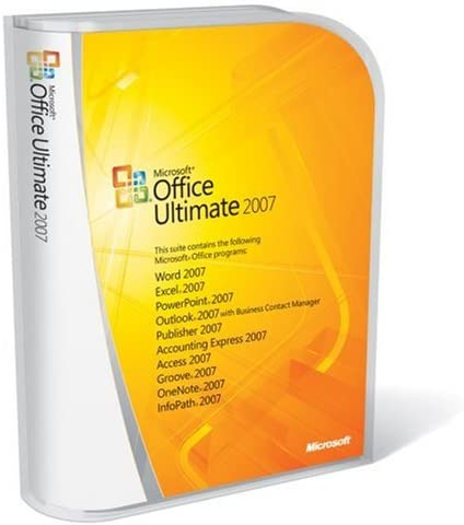 Microsoft Office Ultimate 2007, 1PK, Complete Product - Suites de programas (1PK, Complete Product, 2000 MB, 256 MB, Pentium 500 MHz): Amazon.es: Software