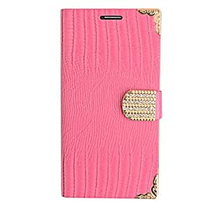 Elegant Tree Stripe Leather Case for Samsung Galaxy Note2 N7100(Assorted Color) --- COLOR:Rose