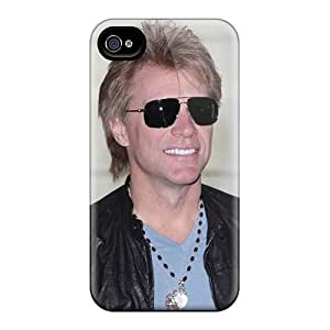 Iphone 4/4s FxR11439eHha Customized HD Bon Jovi Band Pictures High Quality Hard Phone Cover -MarieFrancePitre