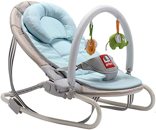SYue Baby Carriage Baby Rocking Chair Cradle Baby Comfort Chair Balance Type Lightweight Rocking Chair Cradle Bed Recliner