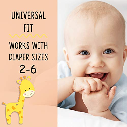 KinderSense® - Diaper Liners - (30 Pack) - Diaper Booster Pads Disposable Doubler Cloth Diaper Inserts to Add Absorption and Prevent Leaks - Overnight Diapers Pad - Adhesive Strip - Hypoallergenic