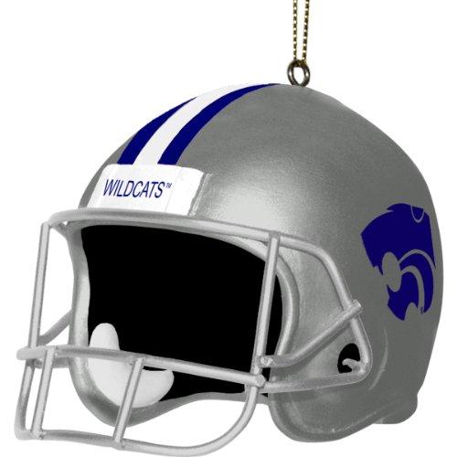 - NCAA Kansas State Wildcats 3 Inch Helmet Ornament