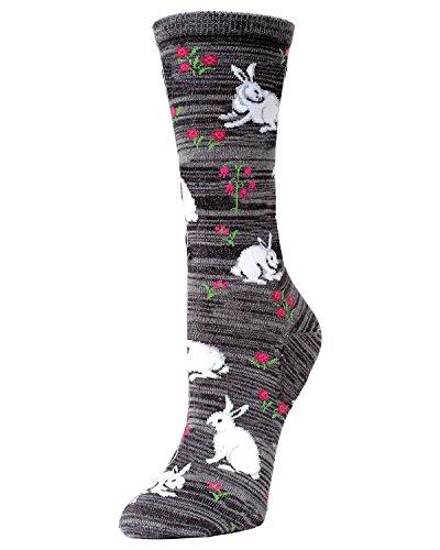 Bunny and Flower Crew (Socks Rabbit)