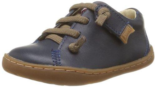 Para 017 80212 Navy De Color Camper Zapatos Niños Derby Cordones 7Tfq5na