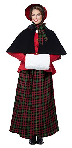 Women's Holiday Caroler Costume X-Large ()